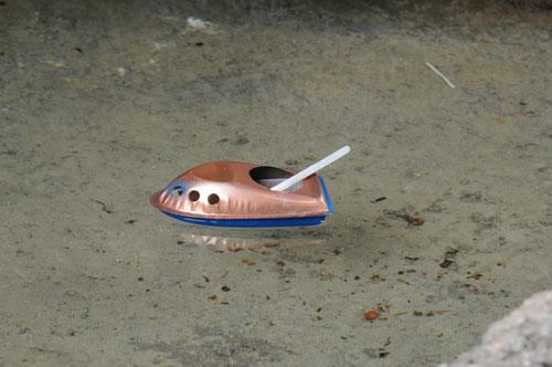 اسباب بازی قایق بخار