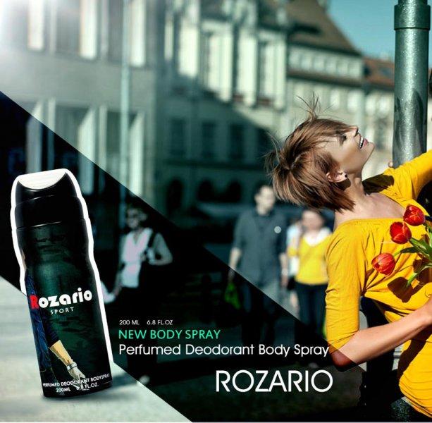 اسپری بدن ROZARIO