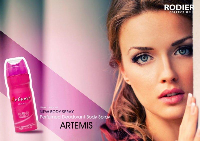 اسپری بدن Artemis
