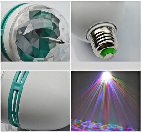 خرید لامپ چرخان ال ای دی LED