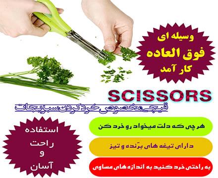خرید قیچی خردکن سبزیجات