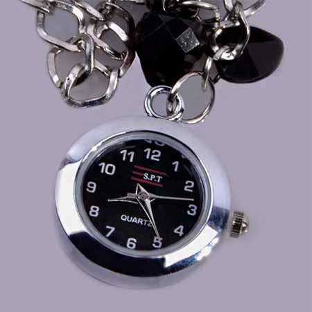 ساعت مچی آویز دار دخترانه