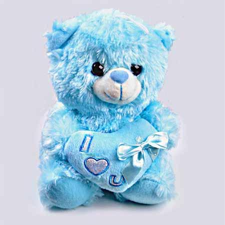 عروسک خرس طرح love