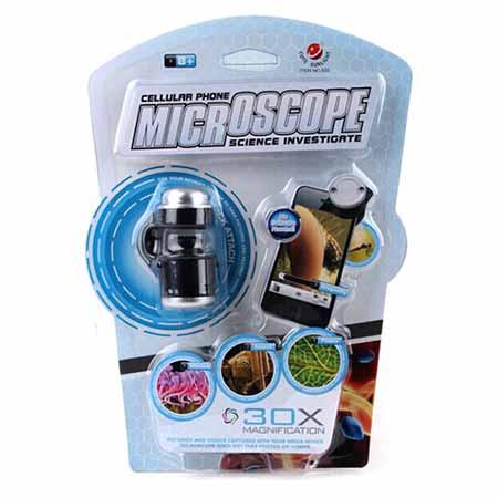 لنز میکروسکوپ برای موبایل