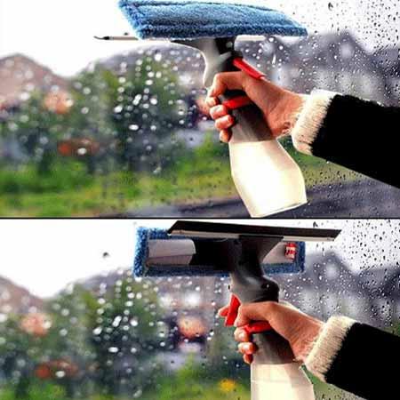 شیشه پاک کن سه کاره