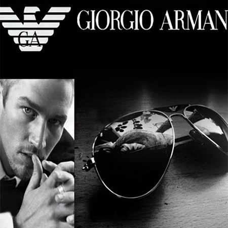 عینک آفتابی طرح جورجیو آرمانی