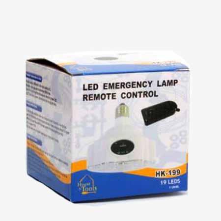 لامپ شارژی ریموت دار