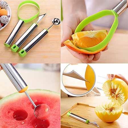 ابزار حرفه ای میوه آرایی