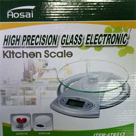 ترازو دیجیتال شیشه ای