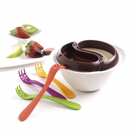 ظرف پلاستیکی شکلات آب کن