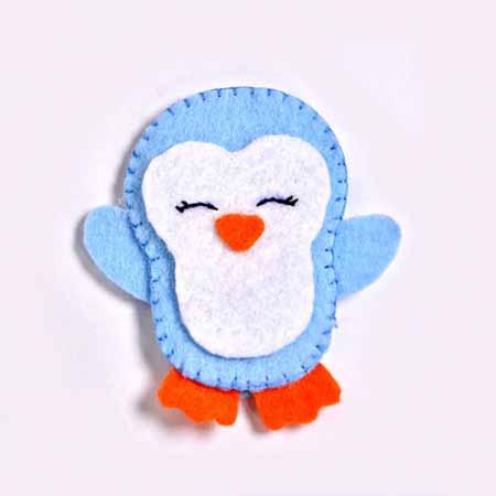 عروسک انگشتی طرح پنگوئن