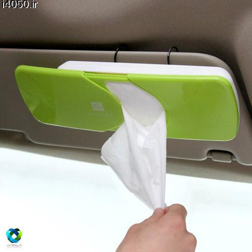 جاي دستمال كاغذي خودرو