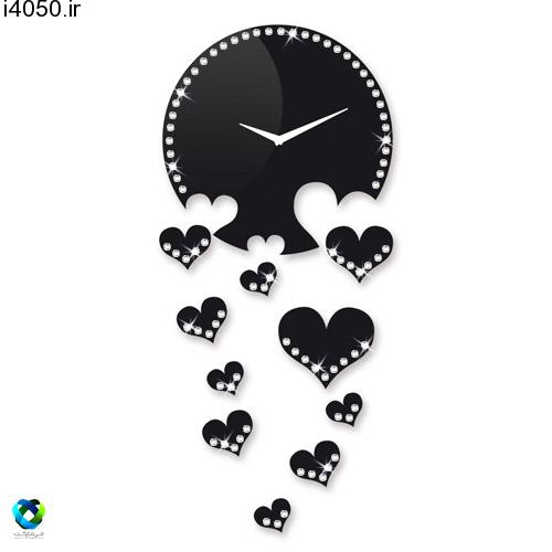خرید ساعت ديواري طرح قلب