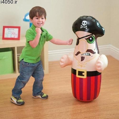 کیسه بوکس Intex طرح دزد دریایی