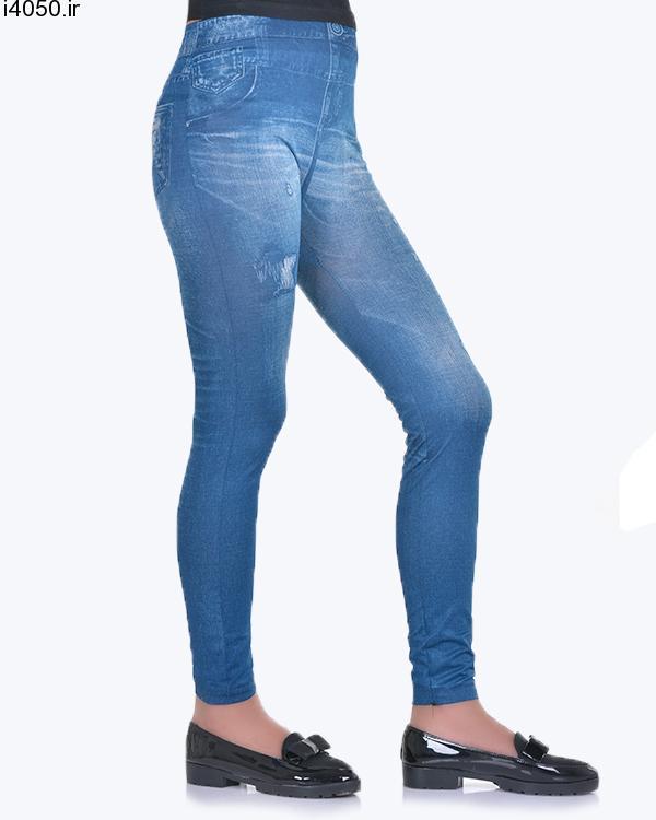 خرید لگ زنانه طرح جین 3