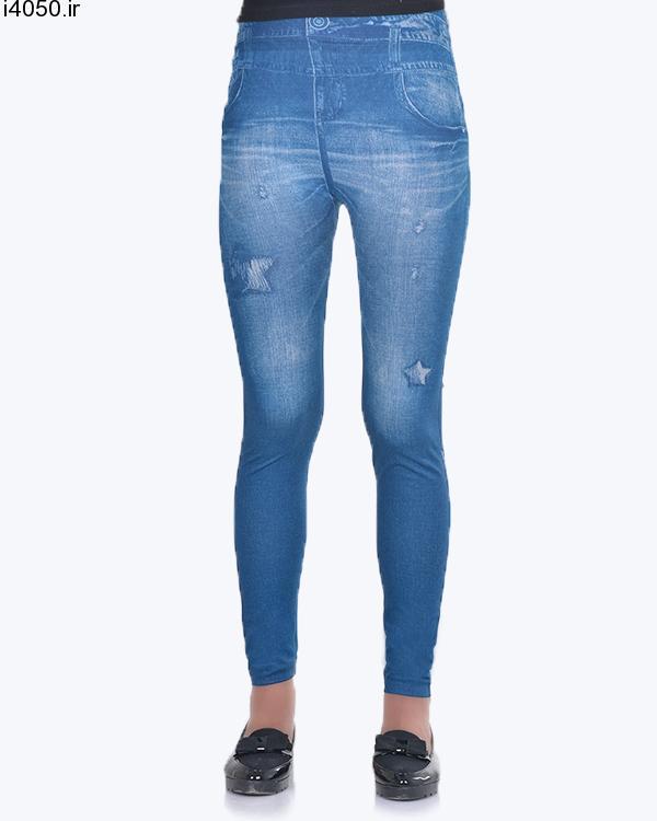 خرید لگ زنانه طرح جین 1