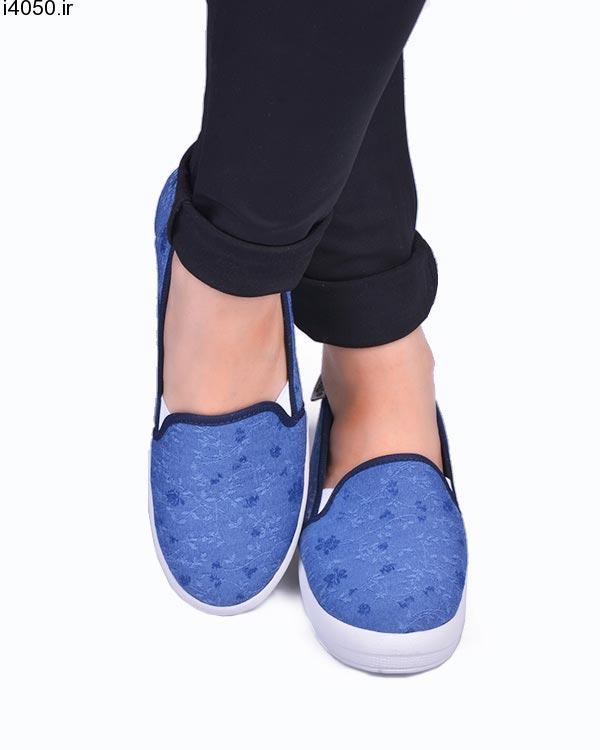خرید کفش زنانه کتان کد 952