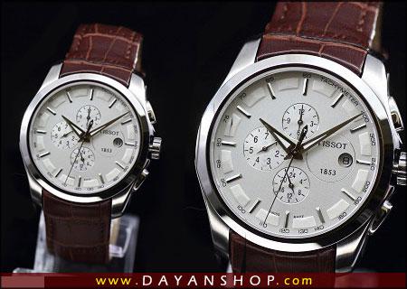 خرید اینترنتی ساعت بند چرمی طرح T1565 Tissotارزان