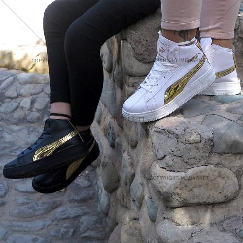خرید اینترنتی کفش ساق دار دخترانه پوما ارزان
