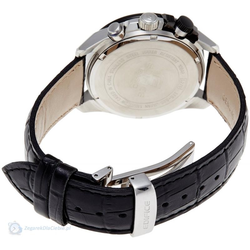 خرید اینترنتی ساعت بند چرمی تک موتوره طرح Casio EFR-520L