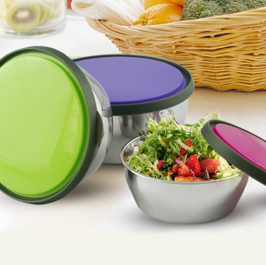 خرید پستی جدید ترین ظروف استيل درب دار