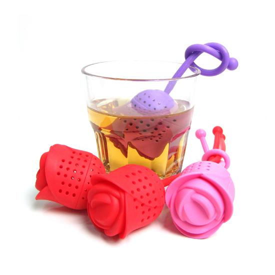 خرید پستی ارزان چای ساز شخصی طرح گل