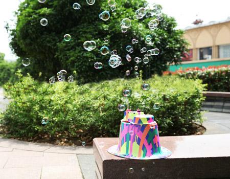خرید اینترنتی کلاه حباب ساز کودک جادويي جدید