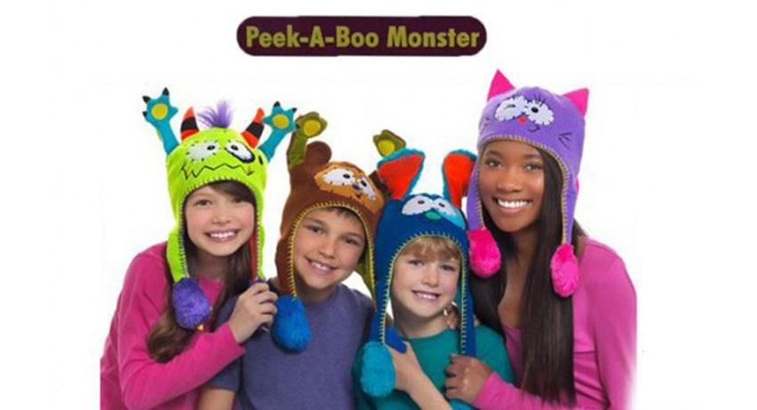 خرید اینترنتی جدید کلاه حیوانات Flipeez