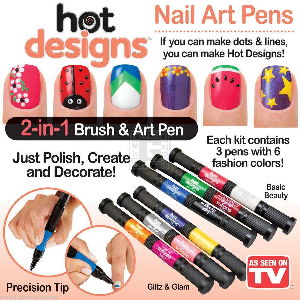خرید پستی جدید لاک طراحی ناخن HOT DESIGNS