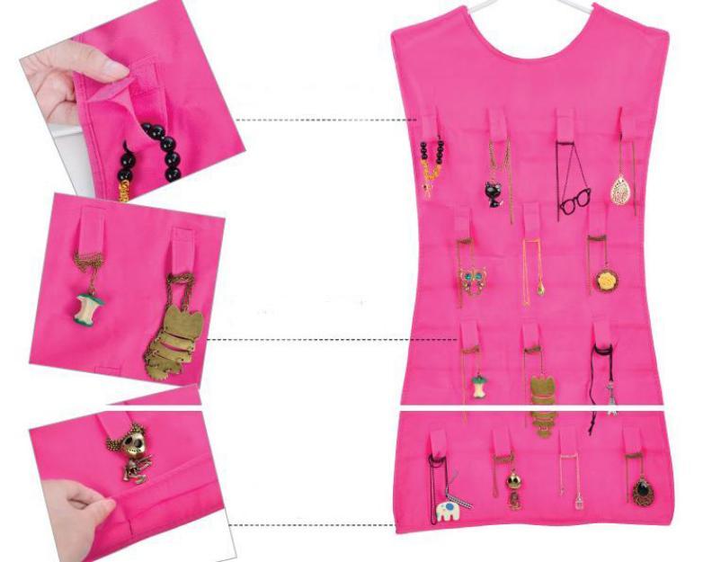 خرید اینترنتی ارزان کاور جواهرات Hanging Jewelry Organizerجدید