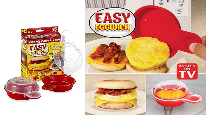 خرید اینترنتی ارزان تخم مرغ پز Easy Eggwich