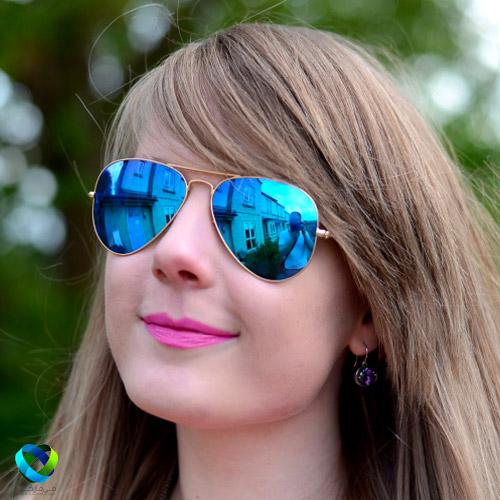 خرید اینترنتی ارزان عینک شیشه آبی rayban-rb wayfarerجدید
