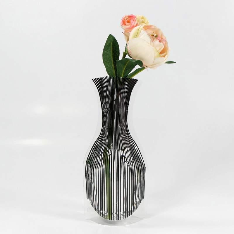خرید اینترنتی ارزان گلدان تاشو کم حجم تخفیف ویژه 2عدد