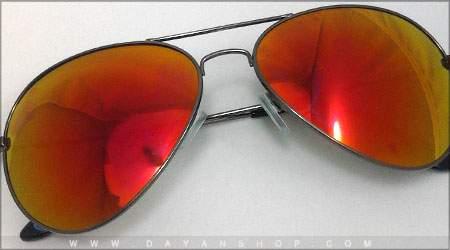 خرید اینترنتی ارزان عینک خلبانی شیشه آتشی جدید
