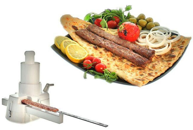 خرید پستی ارزان دستگاه کباب ساز خانگی آسان گیر تک