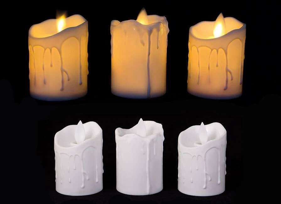 خرید اینترنتی شمع ال ای دی مدل شعله متحرک