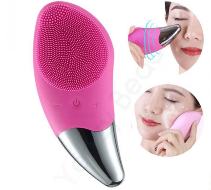 خرید پستی برس پاکسازی و خنک کننده پوست sonic facial brush