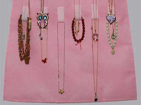 کاور جواهرات آویزی hanging jewelry
