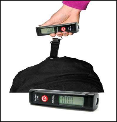 ترازوی دستی الکترونیکی weihenga