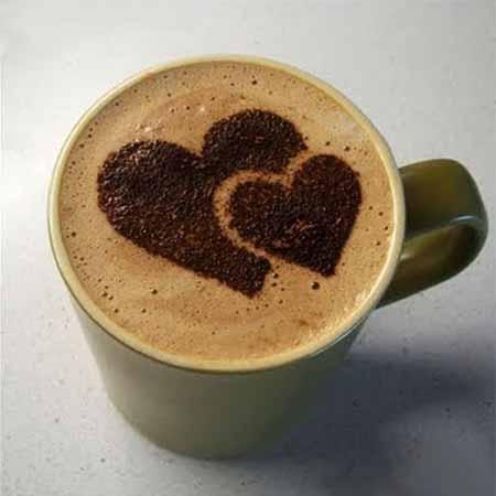 شابلون تزئین قهوه در 16 طرح