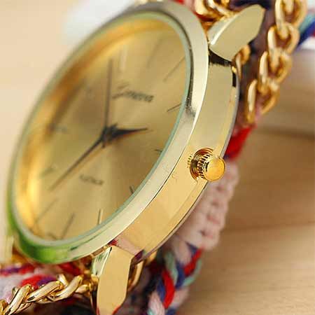ساعت بافتنی دخترانه روژان