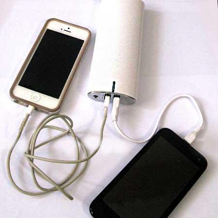 شارژر همراه پاور بانک ظرفیت بالا