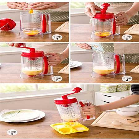 پارچ خمیرساز پنکیک pancake machine