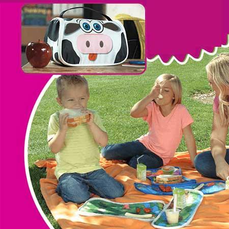 کیف اسباب بازی و غذای کودک