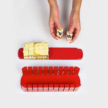رولت ساز طبقه ای سالاد و شیرینی