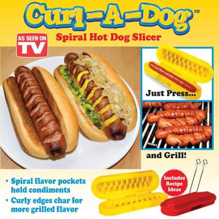 برش زن هات داگ و سوسیس Curl A Dog
