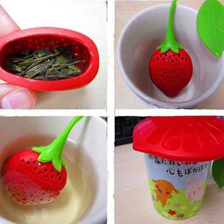 چای ساز شخصی توت فرنگی