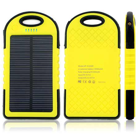 شارژر پاور بانک خورشیدی