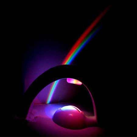 چراغ خواب کودک مدل رنگین کمان